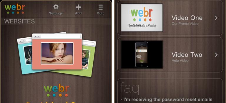 Webr Editor